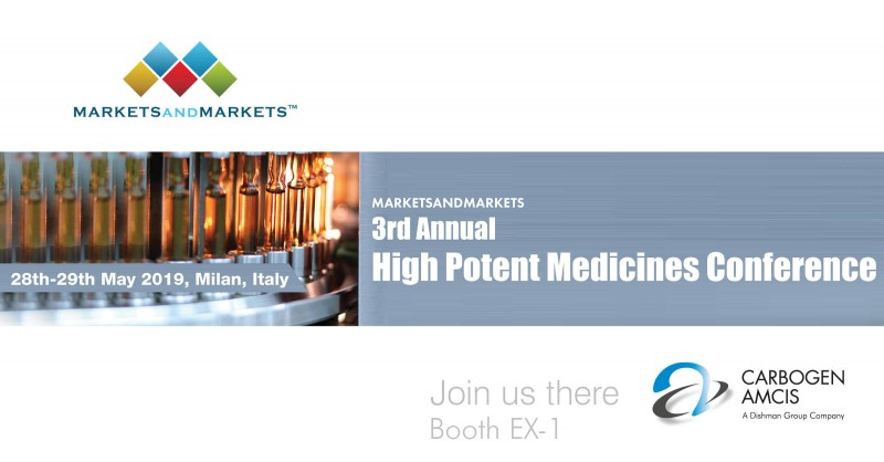 3rd Annual High Potent Medicines Conference | Booth EX-1